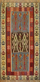R5629 New Kayseri Turkish Kilim Rug