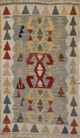 R3478 New Turkish Kilim Area Rug
