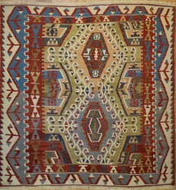 R6107 New Turkish Kilim Rug