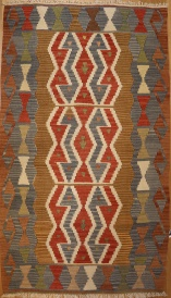 R6120 New Turkish Kilim Rug