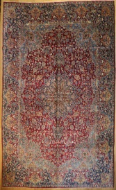 R6931 Persian Kerman Carpet