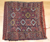 R9020 Persian Shahsavan Kilim Floor Cushion Covers