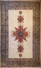 R7551 Persian Tabriz Carpet