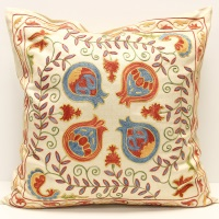C21 Silk Suzani Cushion Pillow Cover