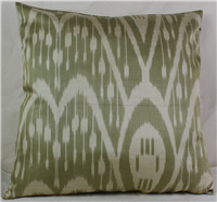 i20 Silk Ikat Pillow cover