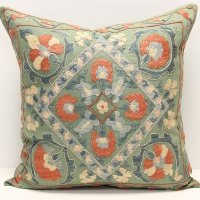C4 Silk Suzani Cushion Cover