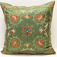 C12 Silk Suzani Cushion Cover