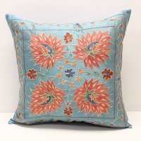 C1 Silk Suzani Cushion Cover
