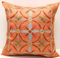 C43 Silk Suzani Cushion Cover
