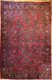 R7548 Traditional Persian Sarouk Carpet