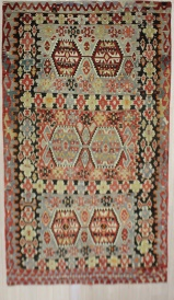 R7496 Turkish Anatolian Esme Kilim Rugs