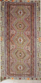 R7487 Turkish Antique Kayseri Kilim Rugs