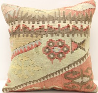 M490 Turkish Antique Kilim Cushion Cover