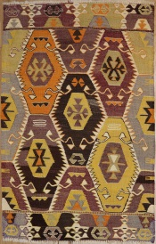 R6421 Turkish Barak Kilim Rugs