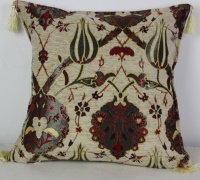 A19 Turkish Chenille fabric Cushion Cover