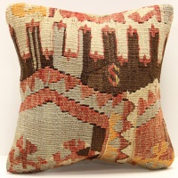 S308 Turkish Kilim Cushion Cover
