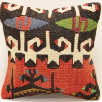 S313 Turkish Kilim Cushion Cover