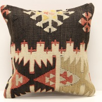 S381 Turkish Kilim Cushion Cover