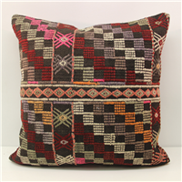 Turkish Kilim Cushion Cover L589