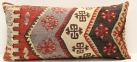 D98 Turkish Kilim Pillow Cover