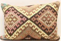 D163 Turkish Kilim Pillow Cover