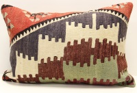 D298 Turkish Kilim Pillow Cover