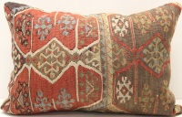 D311 Turkish Kilim Pillow Cover
