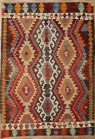 R6520 Turkish Kilim Rug