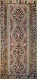 R7470 Turkish Kilim Rug