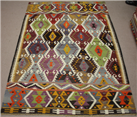 R8514 Turkish Kilim Rug