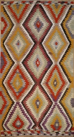 R8962 Turkish Kilim Rugs UK