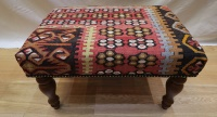 R5953 Turkish Kilim Stools