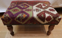R7739 Turkish Kilim Stools