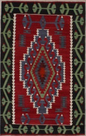 R6350 Turkish Ushak Kilim