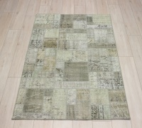 R8991 Turkish Vintage Overdyed Patchwork Rugs