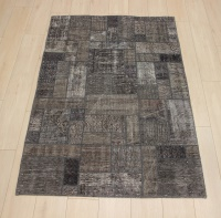 R8993 Turkish Vintage Overdyed Patchwork Rugs