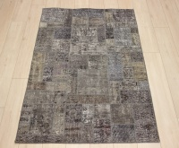 R8995 Turkish Vintage Overdyed Patchwork Rugs