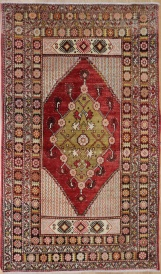 R4429 Vintage Avanos Turkish Rug