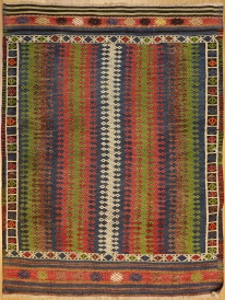 R6796 Vintage Cicim Turkish Rug