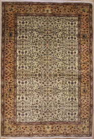 R6437 Vintage Isparta Turkish Carpet