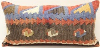 D68 Vintage Kilim Pillow Cover