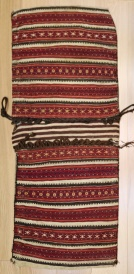 R9018 Vintage Kilim Saddle Bag