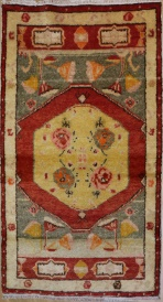R2269 Vintage Oushak Turkish Rugs