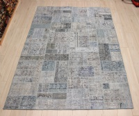 R9004 Vintage Overdyed Patchwork Rugs