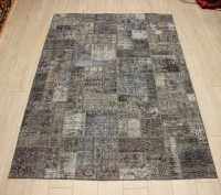 R9005 Vintage Overdyed Patchwork Rugs