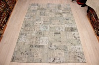 R9007 Vintage Overdyed Patchwork Rugs