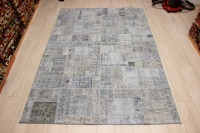 R9009 Vintage Overdyed Patchwork Rugs