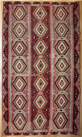 R8163 Vintage Turkish Esme Kilim Rugs