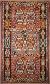 Vintage Turkish Esme Kilim Rugs R7831