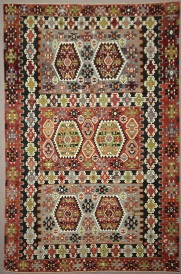 Vintage Turkish Esme Kilim Rugs R7834